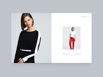 Minimal slide MC simple clean app website design interface header hero ux ui minimal webdesign
