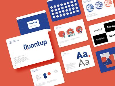 Quantup branding