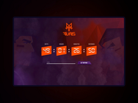 Rivals - landing page timer
