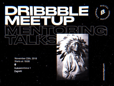 Dribbble Meetup Zagreb design zagreb meetup dribbble