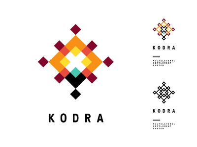 Kodra - Multilateral Settlement System polish folklore cut-out logo branding