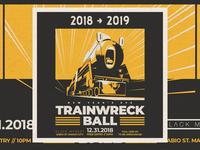 NYE Trainwreck Ball - D&AD