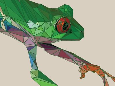 Tree Frog Triangular