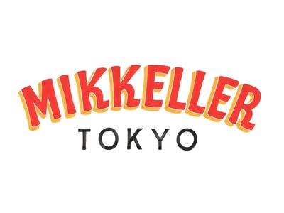 Mikkeller Tokyo logo japan tokyo handlettered logotype wordmark typography type brushlettering handlettering lettering