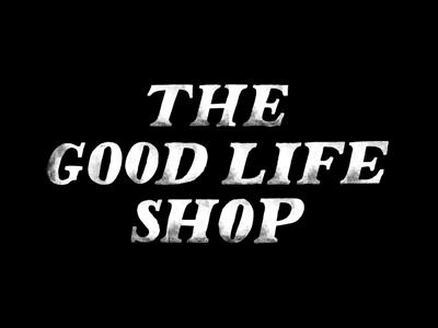 TGL suggestion the good life copenhagen lettering hand drawn serif