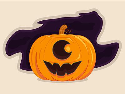Happy Halloween vector illustration icon ivona-petrovic vector halloween vector pumpkin vector illustration monster halloween flyer halloween-pumpkin halloween design pumpkins pumpkin halloween-illustration halloween