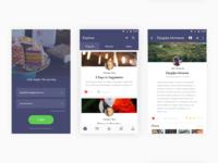 Travel apps homescreen