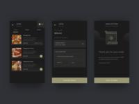 Hotel Dining App explorations