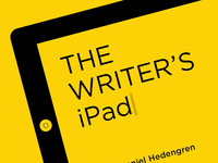 Book cover: The Writer's iPad
