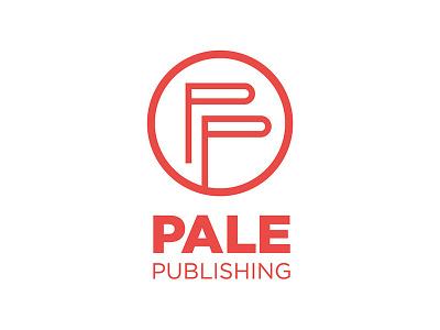 Pale Publishing books symbol circle red logo