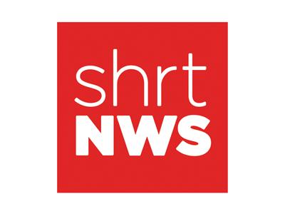Shrtnws final shrtnws logo red simple minimal