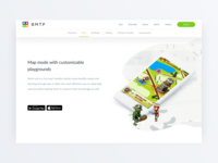 BMTP – Landing page for educational software product