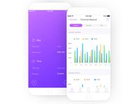 Invoicing App - Financial Balance & Filter