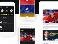 TipsportLiga mobile app - Shot from Case Study