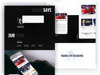 Tipsport Liga App - Testimonial & Selected slide