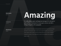GoodRequest Branding -Typography
