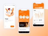 Orange iOS App Reimagine