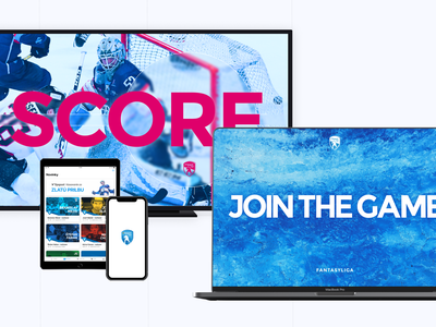 Tipsport Major Hockey League icehockey ice sport interface design mobile design ui mobile app design mobile mobile app uiux ux hockey league fantasy sports fantasy league goodrequest smarttv tv design