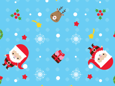 Pattern Origami Paper Set For Christmas  origami paper christmas pattern illustration kawaii cute
