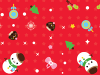 Pattern Origami Paper Set For Christmas