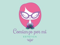 "Logo Design for ""Comienzo por mi - estética"""
