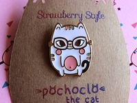 Pochoclo The Cat - Enamel Pin