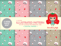 "Illustrated Pattern Design ""Winter"""