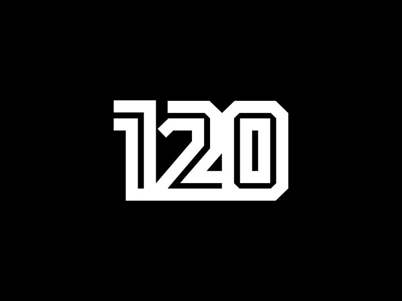 120 Logo industrial numbers number wordmark typeface monogram lettermark logotype logo design branding brand arab