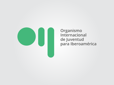 OIJ - Organismo Internacional de Juventud logo logo design logo concept design contest