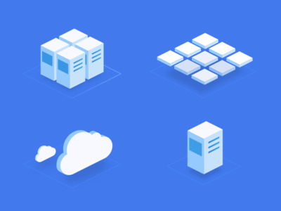 Isometric icons isometric icon