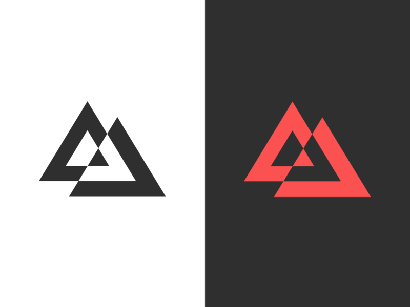 Triangles triangles logo exploration