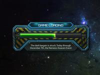 Sci-Fi game loading.