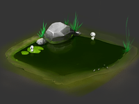Terrain item for secret project. #2