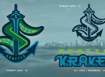 SEA Kraken - NHL 32 - logo(s) Concepts No. 1A