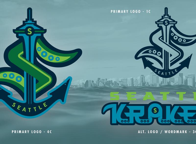 SEA Kraken - NHL 32 - logo(s) Concepts No. 1A