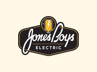 Jones Boys Electric - logo(s) jones boys electric hood river oregon branding logo alaska anchorage screamin yeti