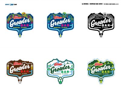 La Bodega - Growler Bar - Famn Damily screamin yeti logo spenard girdwood metro growlerbar labodega alaska