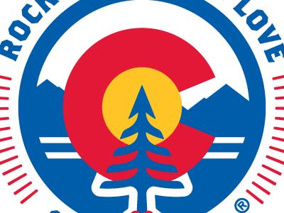 Rocky Mountain Love Clothing Co. - logo screamin yeti logo brand sticker patch apparel clothing love heart tree rocky mountains colorado