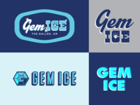Gem Ice - logo(s) - cutting room floor