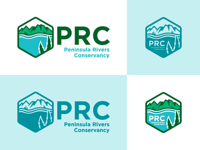 Peninsula Rivers Conservancy (PRC) - logo(s) alaska screamin yeti logo identity conservancy rivers peninsula prc final anchorage