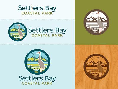 Settlers Bay Coastal Park (SBCP) - logo(s) anchorage final sandhill crane coastal park great land trust conservancy identity logo screamin yeti alaska