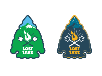 Lost Lake Resort & Campground - '18 merch in progress 2 resort camping mt. hood oregon merch arrowhead smore campfire work-in-progress screamin yeti alaska