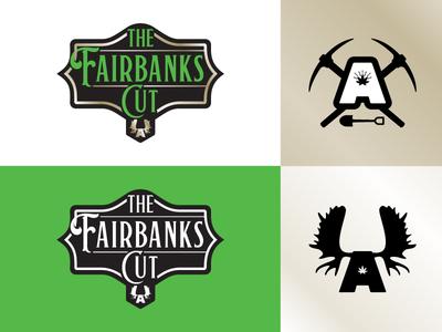 Dankorage - The Fairbanks Cut - primary & secondary logos