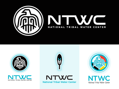 National Tribal Water Center - logo(s) - rejects & officials water tribal native americans national official version rejects logo anchorage screamin yeti alaska from the vault