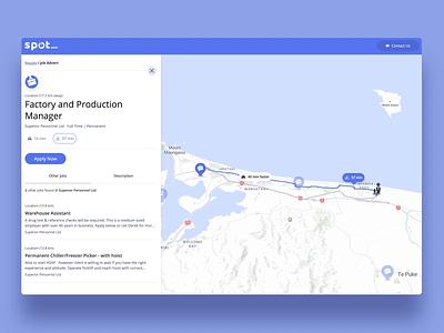 Interactive mapping  🤘😎 location window job board navy wayfinding navigation music mapbox apple maps google maps mapping map web ux interaction animation ui
