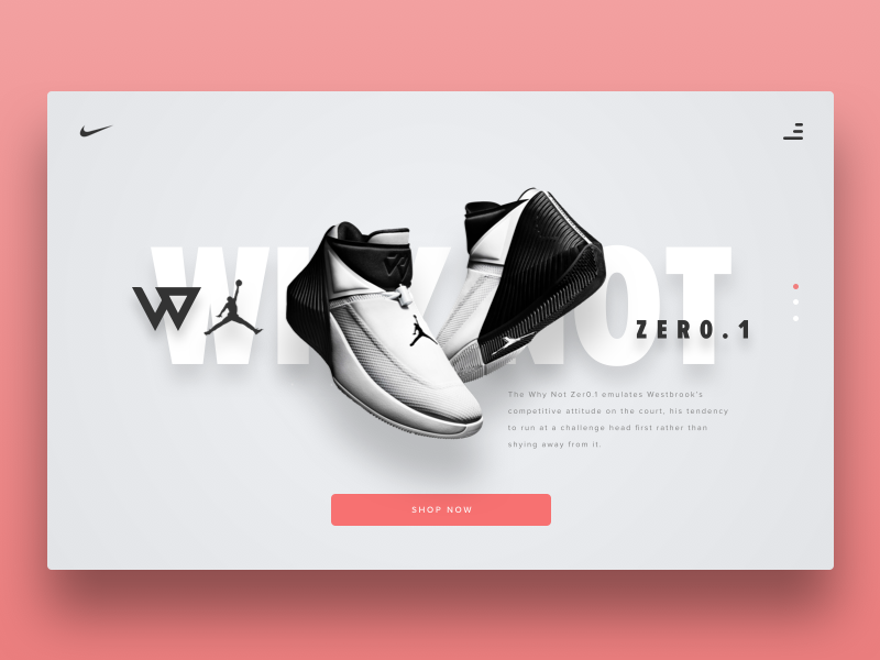 Nike Online Sneaker Store Concept by Sam Atmore (Kiwi Sam