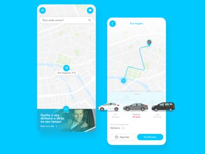Sity Passenger App Conceptual Design