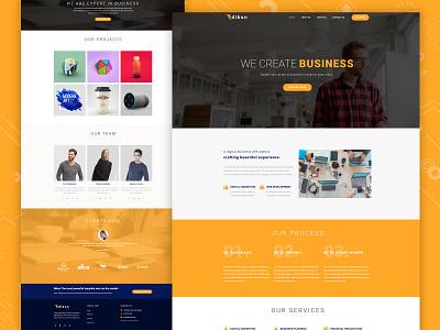Business Website motion graphics ui logo illustration icon graphic design design branding app 3d animation