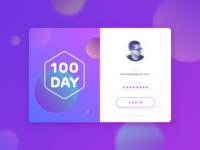 Log in - Daily UI
