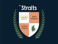 Strait family crest